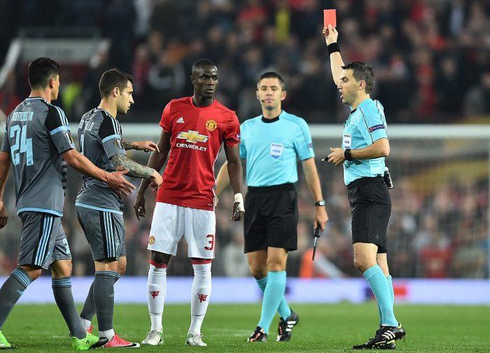 Bailly nhận thẻ đỏ, luật xóa thẻ ở Europa League tính như thế nào?