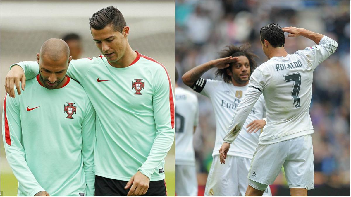 Tiết lộ 8 tình bạn đẹp-độc-lạ của Ronaldo, khiến tất cả phải ngưỡng mộ