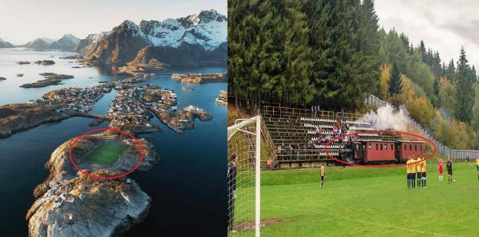 """10 SVĐ """"dị nhất"""" thế giới khiến mọi fan bóng đá đều khao khát được đá ở đây một lần"""
