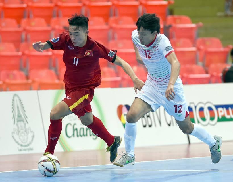U20 VN xuất sắc giành 3 điểm trong ngày ra quân ở giải Futsal châu Á