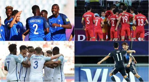 Xác định xong 16 đội đi tiếp và các cặp vòng 1/8 U20 World Cup