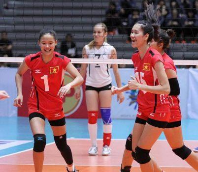 Bóng chuyền nữ Việt Nam hủy diệt đối thủ, vào top 8 châu Á