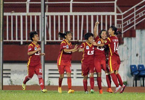 CHÙM ẢNH: Ngược dòng ấn tượng trước Hà Nội, nữ TP.HCM đòi lại ngôi đầu bảng