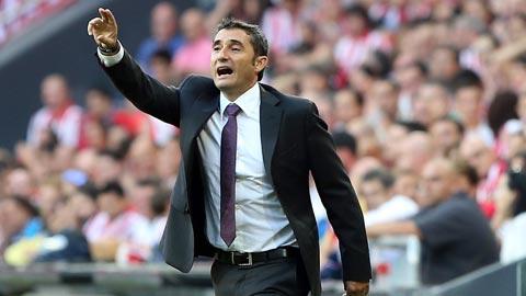 Barca chính thức ký hợp đồng 2 năm với HLV Valverde
