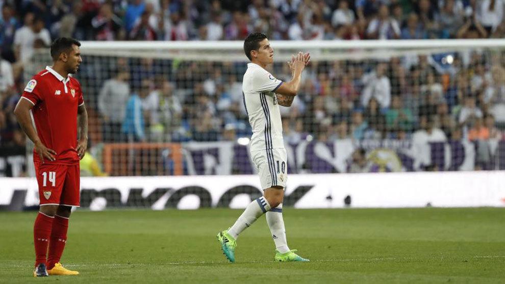 Chưa kết thúc mùa giải, James Rodriguez đã bùi ngùi chia tay CĐV Real?