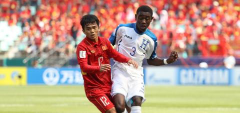 Nỗ lực quả cảm, U20 Việt Nam vẫn dừng bước sau trận thua U20 Honduras