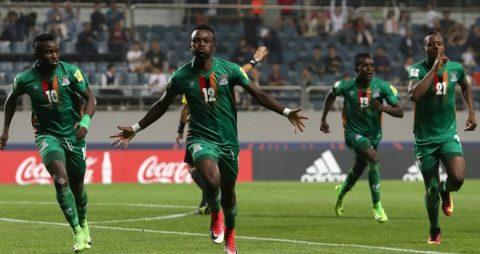 """Bất ngờ với những gì """"đội bóng tí hon"""" U20 Zambia làm được tại World Cup"""