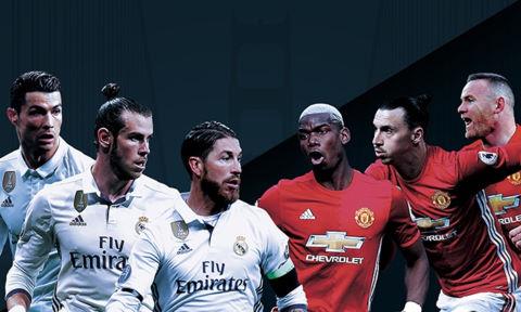Những điều cần biết về trận Siêu Cup Châu Âu giữa Man Utd và Real Madrid