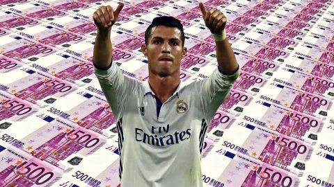 """Hé lộ mức phí giải phóng hợp đồng """"khủng khiếp"""" của Ronaldo"""
