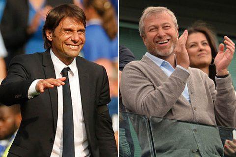 """Sợ mất Antonio Conte, chủ tịch Chelsea ngay lập tức phải """"xuống nước"""""""
