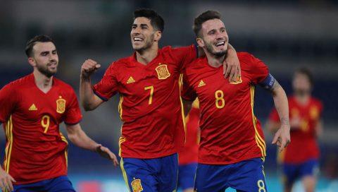 Đội hình tiêu biểu vòng bảng U21 Châu Âu: Asensio xứng đáng dẫn đầu