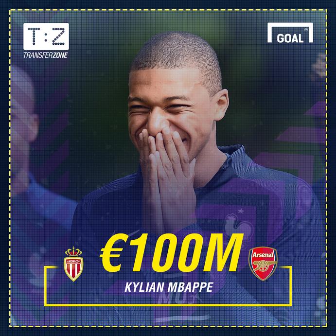 """SỐC: Arsenal vung 100 triệu Euro chiêu mộ """"Tiểu Henry"""""""