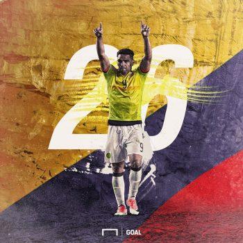 Ngày Falcao đi vào lịch sử, Colombia đánh rơi chiến thắng đầy tiếc nuối