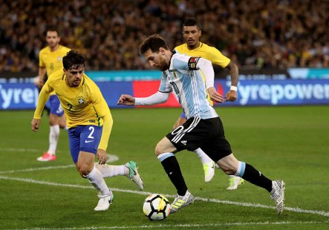 VIDEO: Brazil 0-1 Argentina (Giao hữu quốc tế)