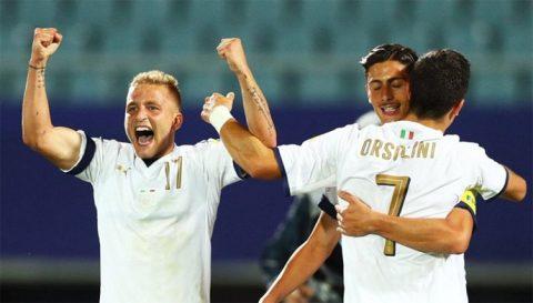 Hạ gục Uruguay trến chấm 11m, Italia giành huy chương đồng tại U20 World Cup
