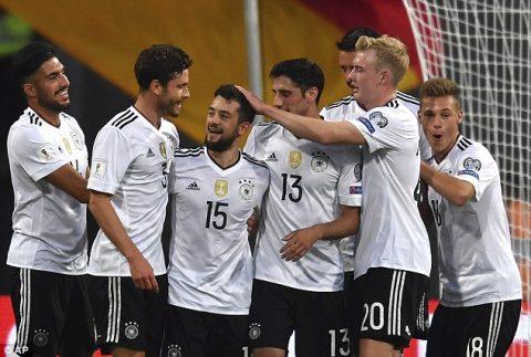 VIDEO: Đức 7-0 San Marino (Bảng C VL World Cup khu vực châu Âu)