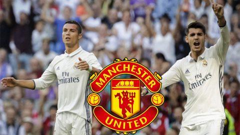 Tại sao Man Utd sẵn sàng tất tay để sở hữu song sát Ronaldo – Morata?