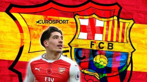 TIN CHUYỂN NHƯỢNG 24/06: Thương vụ Barca chiêu mộ Bellerin có biến lớn; Sao Monaco công khai tỏ tình M.U