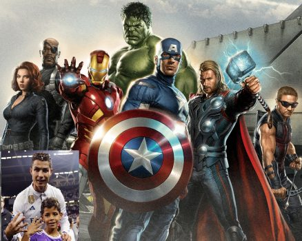 Vũ trụ siêu anh hùng Marvel hợp lại…gần bằng Ronaldo!