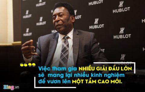 """""""Vua bóng đá"""" Pele thẳng thắn chỉ bài cho Việt Nam dự World Cup"""