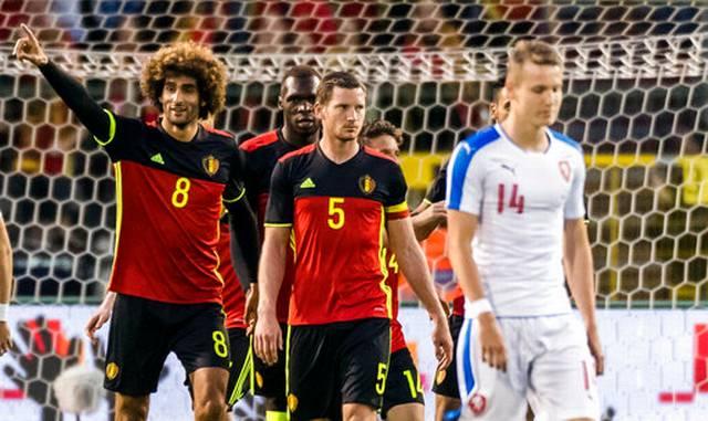 """Giao hữu ĐTQG: """"Đầu xù"""" tỏa sáng giúp Bỉ nhọc nhằn giành chiến thắng"""
