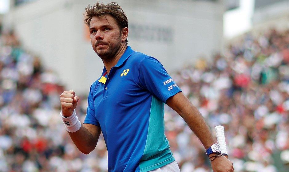 Vượt ải Cilic, Wawrinka vào Bán kết Roland Garros lần thứ 3 liên tiếp