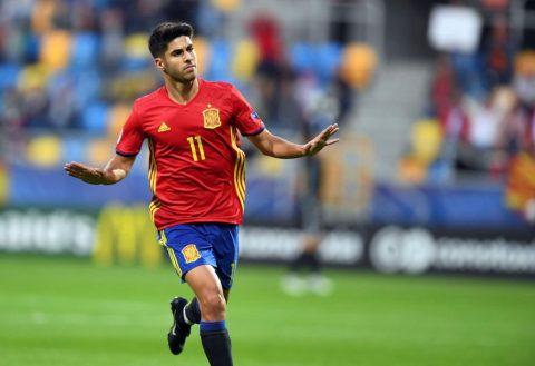 """Marco Asensio """"quẩy"""" tung U21 Châu Âu với hattrick vào lưới Macedonia"""