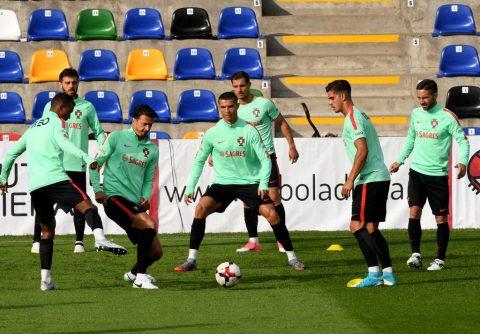 Chùm ảnh: Ronalo tích cực tập luyện cho trận mở màn Confederations Cup