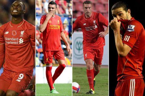 """Số phận các """"số 9"""" của Liverpool sau thời của Torres Idol"""