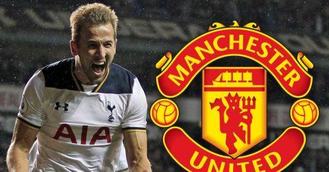 Man Utd bị Tottenham cười nhạo khi đòi mua Harry Kane