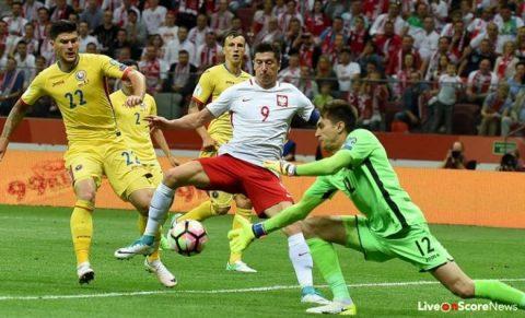 VIDEO: Ba Lan 3-1 Romania (Bảng E VL World Cup khu vực châu Âu
