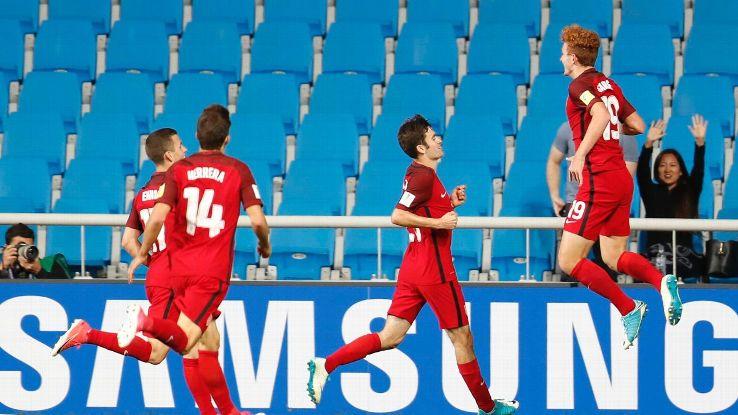 U20 Mỹ vs U20 New Zealand, 18h00 ngày 01/6:Chiến thắng trong tầm tay