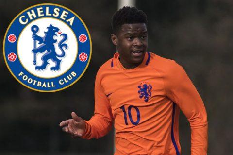 Vượt mặt MU, Chelsea giành chữ ký của thần đồng người Hà Lan