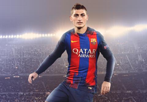 Giật mình với mức giá Barca trả cho PSG vì Verratti