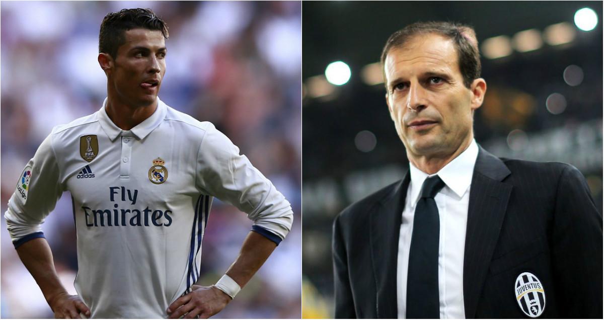 Allegri tiết lộ cái tên khiến ông lo ngại ở Real: Không Ronaldo cũng chẳng Bale