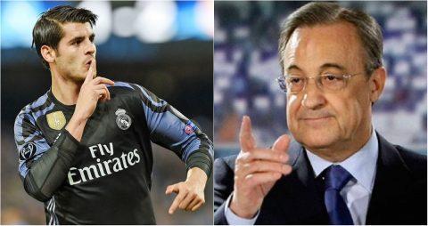 """Công khai muốn đến MU, Morata khiến chủ tịch Perez """"tức điên"""""""