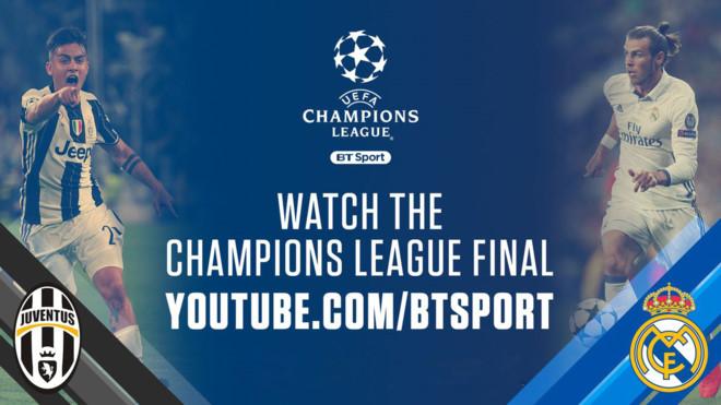 Chung kết UEFA Champions League sẽ truyền hình trực tiếp trên mạng xã hội