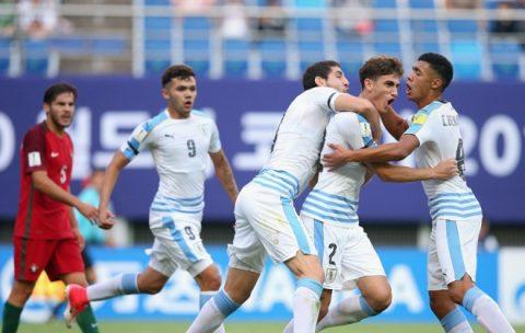 Hạ Bồ Đào Nha sau loạt đấu súng nghẹt thở, U20 Uruguay bước vào bán kết