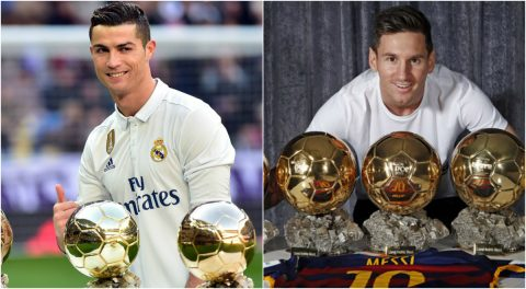 Top 5 đội bóng sở hữu nhiều Quả bóng vàng nhất thế giới