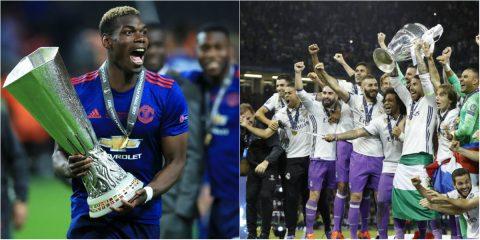 Real vừa vô địch Champions League, M.U đã gửi chiến thư hẹn ngày thách đấu