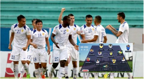 Đội hình tiêu biểu vòng 14 V-League 2017: TP HCM góp 3 ngoại binh