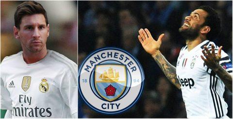 TIN CHUYỂN NHƯỢNG 20/6: Chủ tịch Real xác nhận muốn có Messi; Alves đạt thoả thuận gia nhập Man City