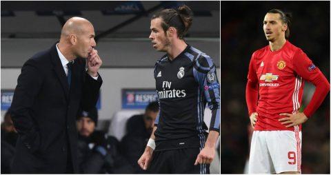 TIN CHUYỂN NHƯỢNG 27/06: Zidane quyết định số phận Bale; Bị từ chối, Ibra sẽ đối đầu Real?