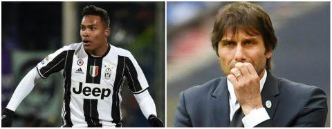 Chi đậm cho sao chạy cánh Juve, Conte vẫn phải nhận trái đắng
