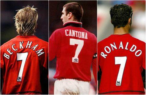 """Những kẻ """"phá hoại"""" chiếc áo số 7 huyền thoại tại Old Trafford"""