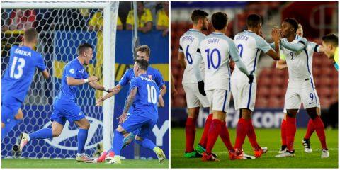 Bảng A VCK U21 châu Âu: Anh chắc suất, Slovakia rộng cửa đi tiếp