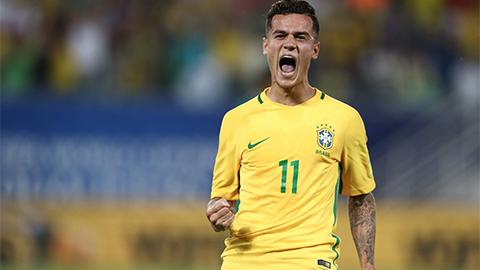 Coutinho nhận tin cực vui ngày lên tuyển