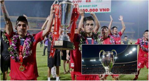 """Cúp Quốc gia Việt Nam cũng có """"lời nguyền"""" như Champions League?"""