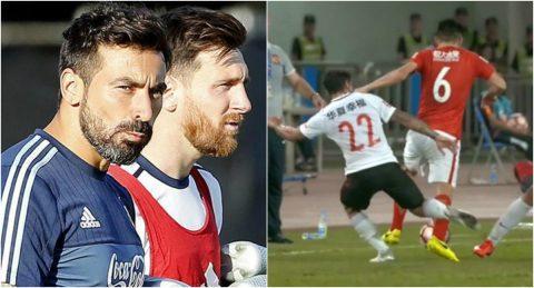 Sau Oscar tới lượt bạn thân của Messi bỏ bóng đá người ở Trung Quốc