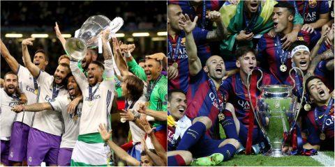 """11 đội bóng """"vua danh hiệu"""" trên đấu trường quốc tế: Real-Barca ai mới là số 1?"""